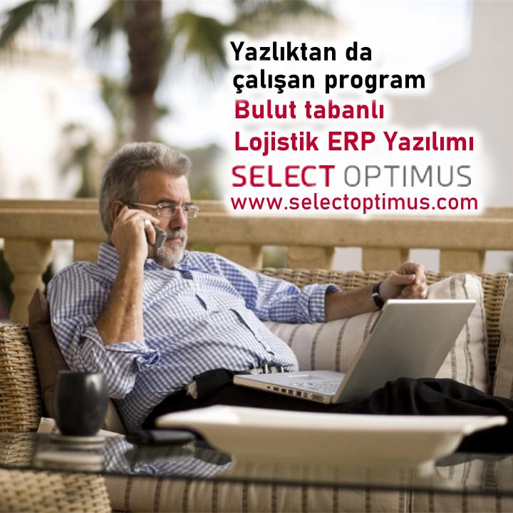 Bulut Tabanlı Yeni Select OPTIMUS Lojistik Platformumuzu tıklayıp inceleyin.